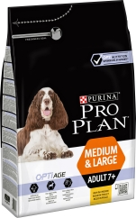 Hundfoder Pro Plan Medium & Large Adult 7+, 3 kg