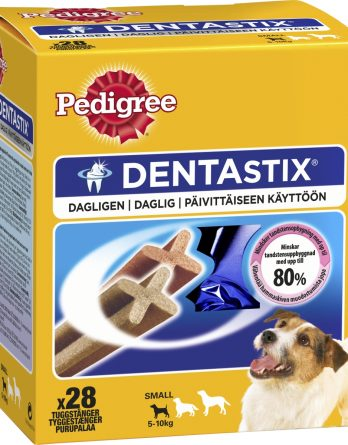 Hundtugg Pedigree DentaStix Mini, 28-pack