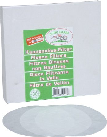 Silfilter Eurofarm runda 160 mm, 200-pack
