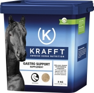Fodertillskott Krafft Gastro Support, 3 kg