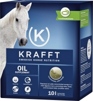 Fodertillskott Krafft Oil, 10 l