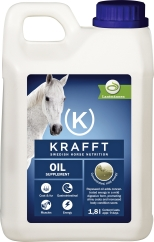 Fodertillskott Krafft Oil, 1,8 L