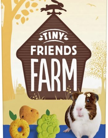 Gnagargodis Tiny Friends Farm Gerty Guinea Pig Scrummies Frukt, 120 g