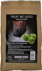 Hästgodis Hansbo Sport Treat Me Good Äpple, 1 kg