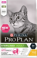 Kattmat Purina Pro Plan Sterilised Optidigest Kyckling, 10 kg
