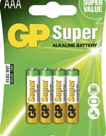 Batteri GP Alkaline Super LR03, AAA