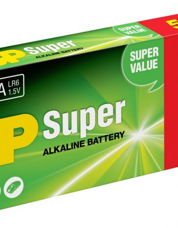 Batteri GP Alkaliner AA, 5+5-pack