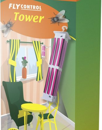 Flugfälla Tower, 2-pack