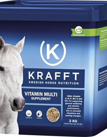 Fodertillskott Krafft Vitamin Multi, 3 kg