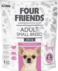 Hundfoder Four Friends Adult Small Breed, 1 kg