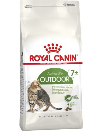 Kattmat Royal Canin Outdoor +7, 4 kg
