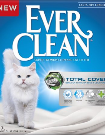 Kattsand Ever Clean Total Cover, 10 l