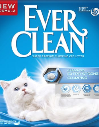 Kattsand Ever Clean Unscented Strong Clumping, 6 l