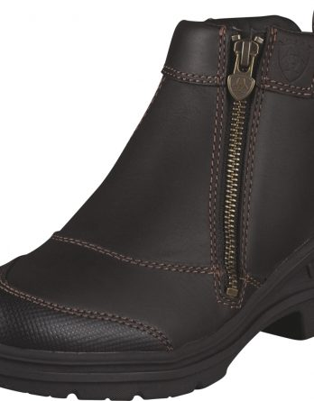 Ridsko Ariat Barnyard Side Zip, brun