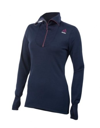Doublewool Polo With Zip Woman