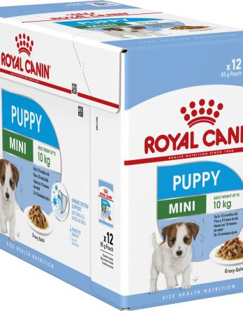 Hundfoder Royal Canin Mini Puppy, 12x85 g