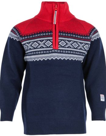 Kids Wool Sweater with Zip