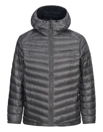 Men's Duck Down Hooded Ski Jacket