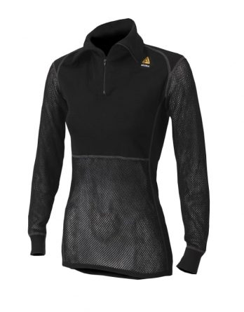 Woolnet Polo With Zip Women's