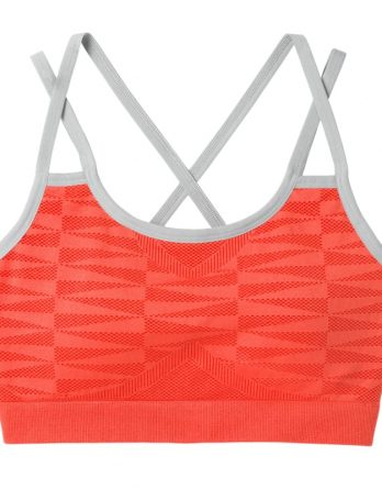 Women's Merino Seamless Strappy Bra