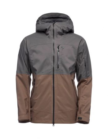 Men's Boundary Line Mapped Insulated Jacket