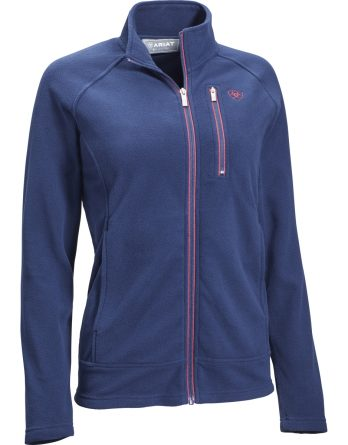 Tröja Ariat Basis 2.0 Full Zip, Navy
