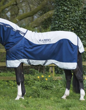 Hästtäcke Horseware Rambo Summer Series Turnout 0 g, Navy