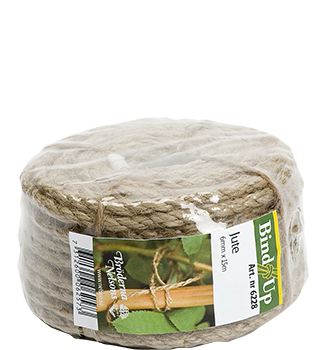 BIND-UP Snöre, Jute 6mm Natur