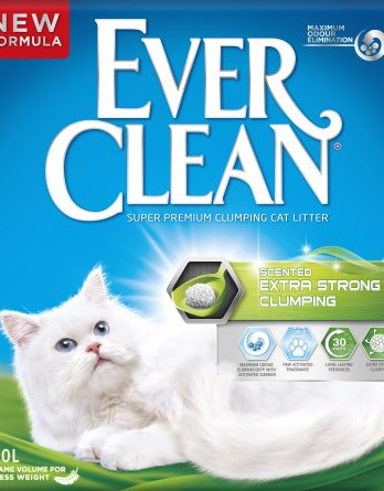 Kattsand Ever Clean Scented Extra Strong Clumping, 10 l